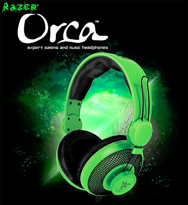 Razer Orca Headphones.