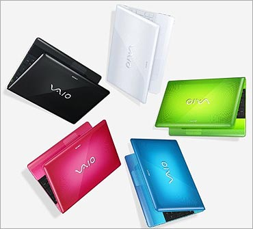Sony Vaio E-series laptops.