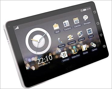 OlivePad tablet PC.