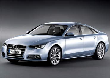 The new Audi A6.
