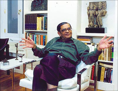 Renowned economist Jagdish Bhagwati.