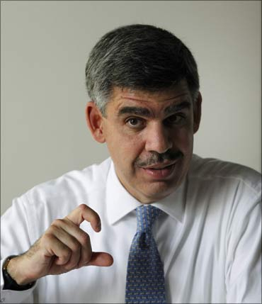 Mohamed A El-Erian, the American-born economist and son of an Egyptian diplomat.