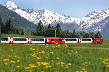 The Glacier Express.