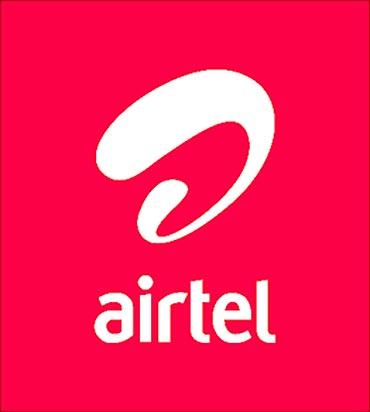 Airtel's new logo.