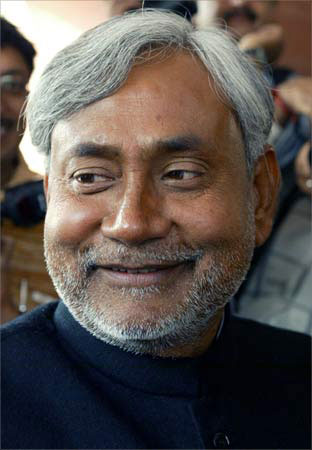 Nitish Kumar, Chief Minister of Bihar.