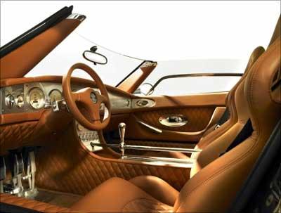 Spykar interior.