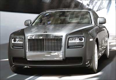 Rolls-Royce Ghost.