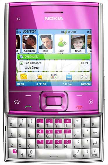 Nokia X5.