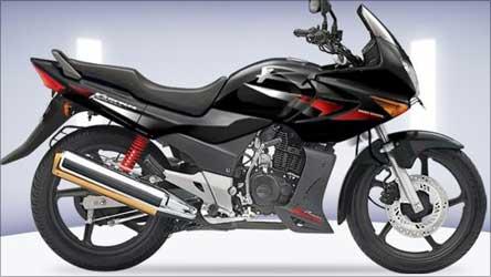 Hero Honda Karizma bike.