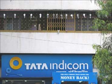 Tata Indicom office.
