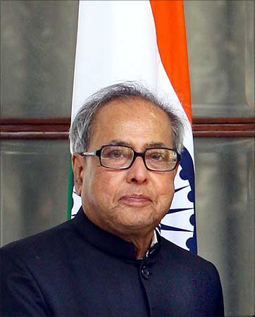 Finance Minister Pranab Mukherjee.