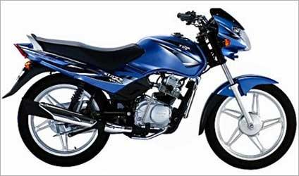 100cc TVS Star Sport.