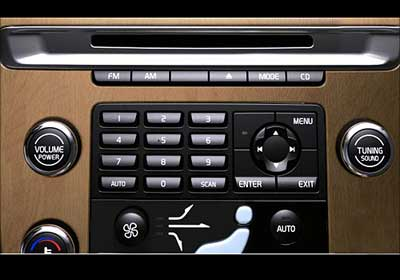 Volvo XC60 stereo.