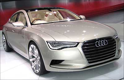 Check Out The Stunning Audi A Sportsback Rediffcom Business - Audi car a7