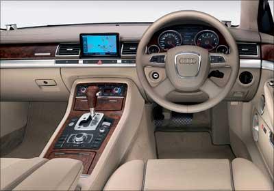 Audi A7 Steering Wheel.