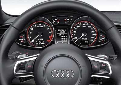 Audi A7 TachoMeter.