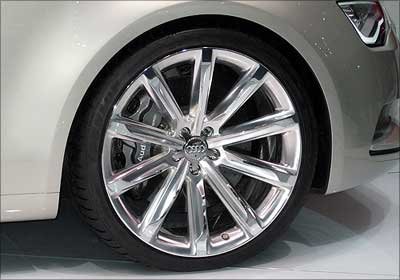 Audi A7 wheel.