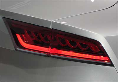 Audi A7 right taillight.