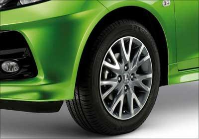 Front wheel of Brio.