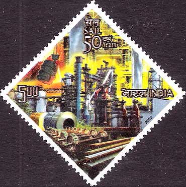 SAIL represented on a stamp.