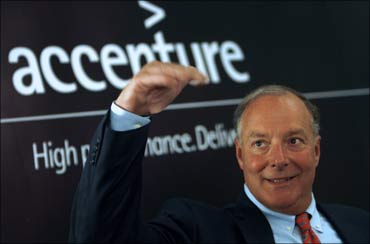 Bill Green, the chairman and chief executive of consulting firm Accenture Ltd.