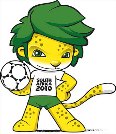 FIFA World Cup mascot.