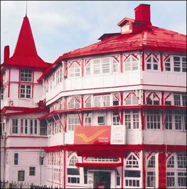 A post office in Himachal Pradesh.