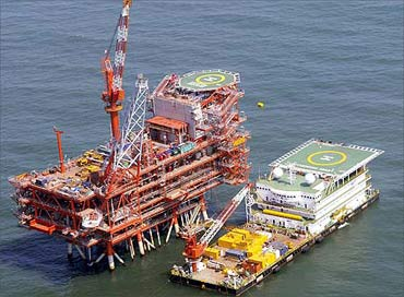 A RIL oil rig.