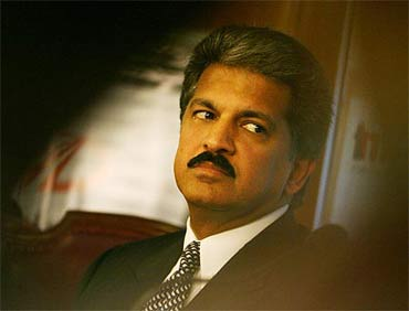 M and M managing director Anand Mahindra.