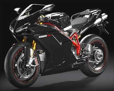 Ducati 1198 SP.