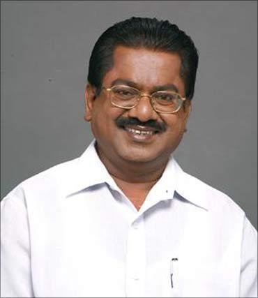 DMK leader TKS Elangovan.