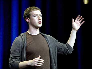 Mark Zuckerberg, founder of social networking giant Facebook.
