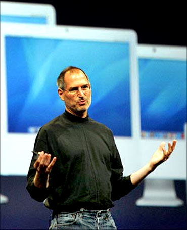Apple founder Steve Jobs.