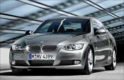 BMW 3-Series coupe.