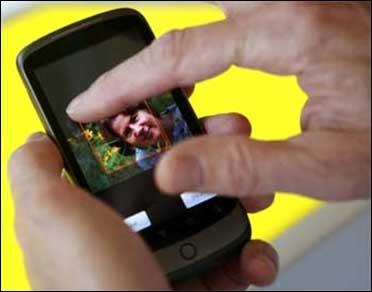 Nexus One smartphone.