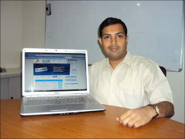 Nayan Khinvasara, founder, Jobs In A Jiffy.