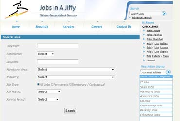 Jobs in a jiffy: A startup for startups
