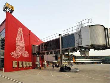 The aerobridge.