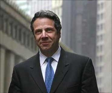 New York State Attorney General Andrew Cuomo.