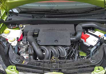 Ford Figo engine.