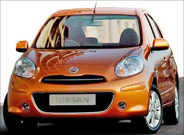 Nissan Micra.