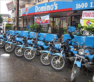 Domino's outlet.