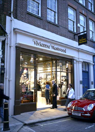 Vivienne Westwood outlet.