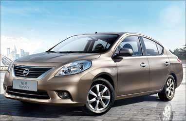 The all-new Nissan Sunny.