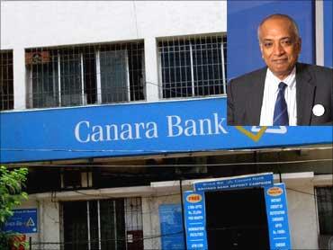 Inset: S Raman, CMD, CanBank.