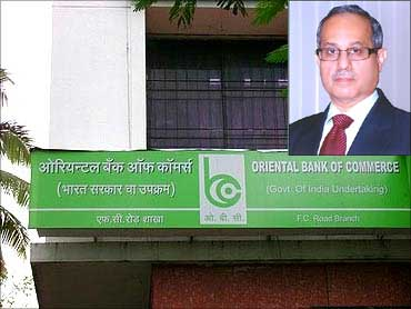 Inset: T Y Prabhu, CMD, Oriental Bank of Commerce.