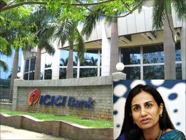 Inset: Chanda Kochhar, CMD, ICICI Bank.