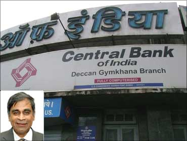 Inset: S Sridhar, CMD, Central Bank of India.