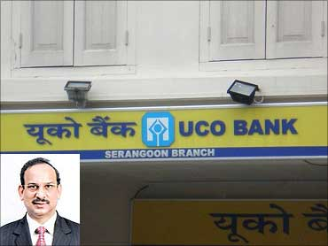 Inset: Arun Kaul, CMD, UCO Bank.