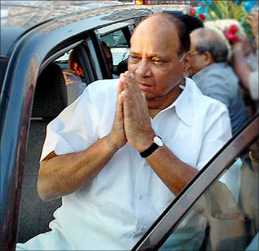 Agriculture Minister Sharad Pawar.